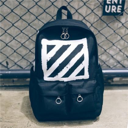 Men's Street Fashion Large Capacity Backpack Unisex Couple Bag