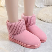 Women Velvet Snow Boots Thick Cotton Plus Size Fashion Ladies Boots
