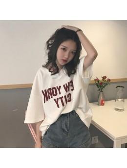 Women Boyfriend Shirt Loose Big Blouse Summer Trend Fashion Plus Size Tops