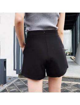 Women Chiffon Sexy Shorts High Waist Wide Leg Casual Fashion Plus Size Bottoms