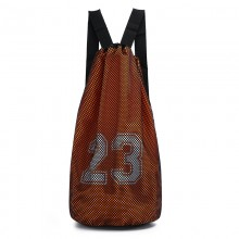 Men's Basketball Drawstring Bag Outdoor Fitness Waterproof Sports Backpack