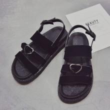 Women Roman Strap Buckle Ladies Sandals Low Heel Comfort Wear Plus Size Shoes