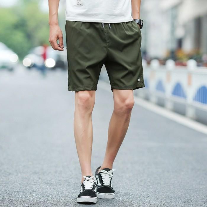 Men S Basic Casual Sport Short Pants Summer Beach Fashion Trend Plus