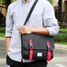 Men's Postman Bag Hot Trend Secure Lock Student Fashion Male Shoulder Sling Bag