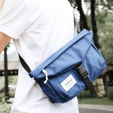 Men's Trendy Chest Bag Waterproof Zippered Digging Bag Male Fashion Sling Bag