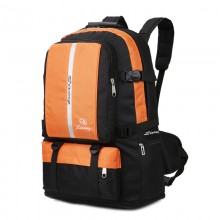 Men's Expanding Outdoor Backpack High Quality Nylon Large Capacity Travel Bag