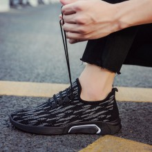 Men's Mesh Cloth Breathable Sports Running Shoes Casual Lace Up Male Trend Shoes