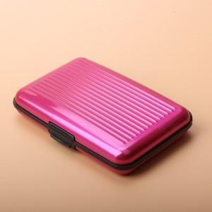 Men's Anti RFID Metal Card Wallet Waterproof Fireproof Unisex Card Holder Wallet