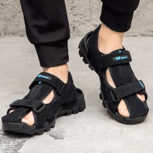 Men's Baotou Roman Beach Sandals Thick Bottom Summer Outdoor Fashion Slippers