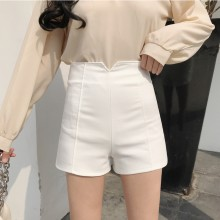 Women Solid Color High Waist Sexy Shorts Casual Classic Ladies Fashion Shorts