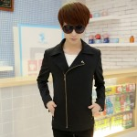 Men's Casual Windbreaker Slim Fit Autumn Fashion Handsome Trend Coat Jacket