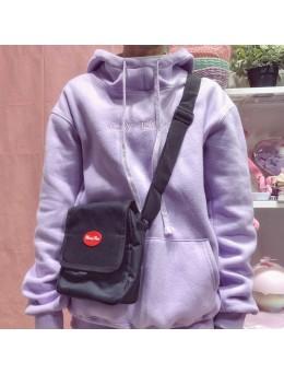 Men's Retro Mini Sling Bag Street Trend Messenger Unisex Couple Cross Body Bag