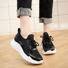 Women Cloth Mesh Wild Trend Sports Running Shoes Plus Size Ladies Rubber Shoes