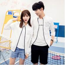 Men's Sun Protection Jacket Long Sleeve Beach Fashion Couple Plus Size Jacket