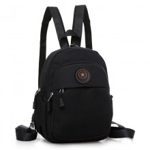 Men's Canvas Waterproof Backpack Outdoor Sports Fashion Unisex Couple Backpack