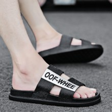 Men's Outdoor Statement Slippers Beach Wear Summer Fashion Male Flip Flops