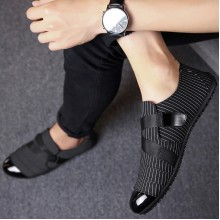 Men's Cloth Hot Trend Casual Lazy Shoes Daily Wear Male Fashion Peas Shoes