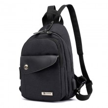 Men's Campus Fashion Small Backpack Outdoor Street Trend Male Fashion Backpack