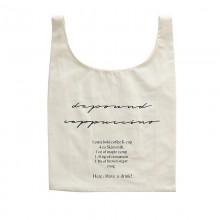 Women Statement Coffee Bag Cotton Cloth Shopping Bag Canvas Chic Shoulder Bag