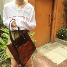 Women Transparent Shoulder Bag Large Capacity Tote Bag Ladies Fashion Trendy Bag