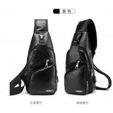 Men's Multi Pocket Chest Messenger Bag Cross Body Leisure Travel Fashion Bag