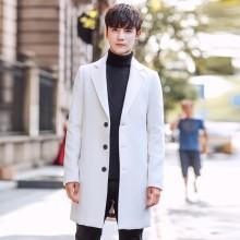 Men's Winter Long Coat Windbreaker Thick Coat Business Fashion Plus Size Jacket