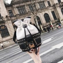 Women Small Bucket Sling Bag Hot Retro Trendy Fashion Ladies Cross Body Bag