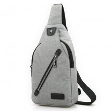 Men's Casual Sling Bag Outdoor Travel Cross Body Bag Male Fashion Chest Bag