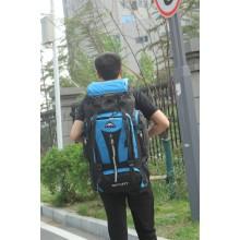 Men's Super Large Capacity Hiking Backpack Outdoor Travel Waterproof Luggage Bag