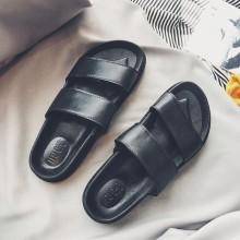 Men's Basic Indoor Slippers Comfort Wear Summer Beach Fashion Male Flip Flops