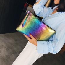 Women Millennial Envelope Bag Wrist Clutch Bag Hot Trend Fashion Large Purse