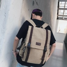 Men's Large Capacity Travel Backpack Outdoor Camping Zippered Secured Backpack