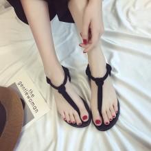 Women Bohemian Thong Flat Sandals Summer Fashion Beach Wear Ladies Sandals