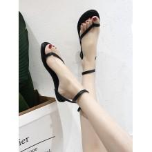 Women Roman Flat Sandals Ankle Buckle Summer Chic Fashion Ladies Sandals