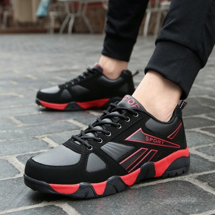 Men's Retro Sports Shoes Unisex Couple Comfort Fashion Lace Up Running Shoes