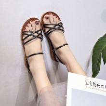 Women Dual Wear Slipper Sandals Summer New Fashion Ladies Plus Size Flat Sandals
