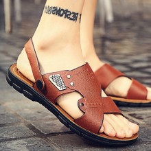 Men's Dual Wear Flip Flop Sandals Outdoor Summer Beach Fashion Non Slip Slippers