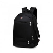 Men's Black Business Computer Bag Waterproof Durable Outdoor Travel Backpack