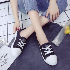 Women Classic Sneaker Shoes Lace Up Comfort Style Soft Bottom Plus Size Shoes