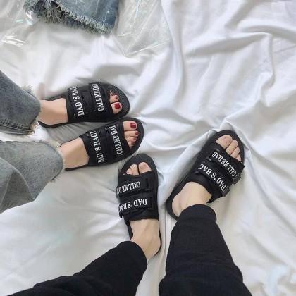 Men's Outdoor Non Slip Couple Flip Flops Beach Fashion Plus Size Unisex Slippers