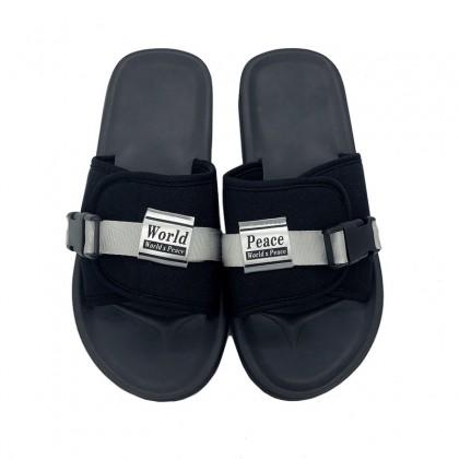 Men's Summer Beach Fashion Slip On Flip Flops Couple Plus Size Outdoor Slippers