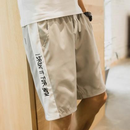 Men's Hot Trend Summer Short String Thin Outdoor Fashion Plus Size Sport Shorts