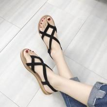 Women Roman Flat Thong Sandals Summer Wear Korean Fashion Plus Size Sandals