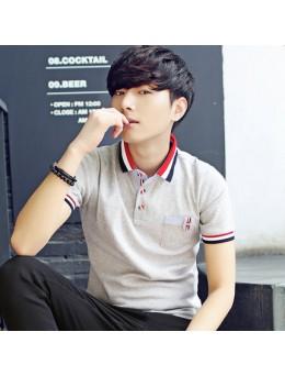 Men's Summer Short Sleeve Polo Shirt Hot Trend Clothes Plus Size