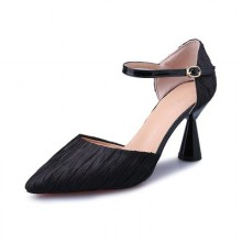 Women's Summer Mid-High Heels Pointed Toe Fashion Casual Sandals