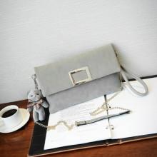 Women Hand Bag Envelope Chain Shoulder Diagonal Clutch Bag