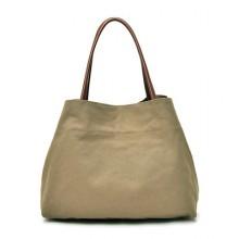 Women Retro Casual Simple Handbag Trendy Large Capacity Shoulder Bag