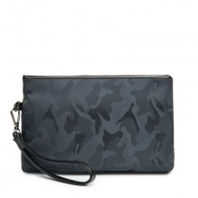 Men's Camouflage Clutch Bag Fashion Envelope Bag Casual Handbag IPAD Package
