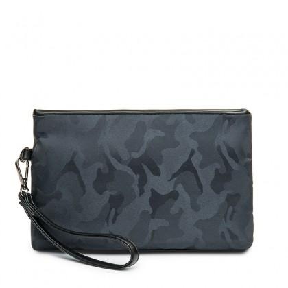 Men's Camouflage Clutch Bag Fashion Envelope Bag Casual Handbag IPAD Package