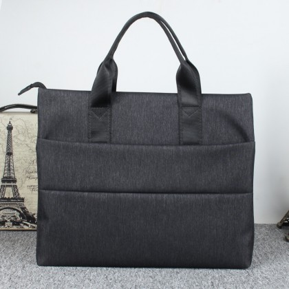 Men's Casual Handbag Business Briefcase File Package Computer Bag